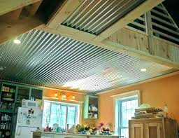 rustic bathroom with corrugated metal accents ceiling trim creative ways to use in interior design