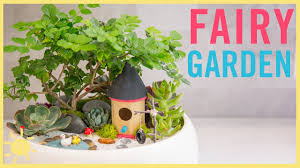 Fairy Garden Pictures Diy How To Make A Fairy Garden Youtube