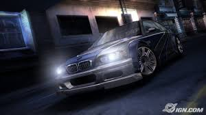 2003 bmw m3 gtr confirmed as seen in most wanted image