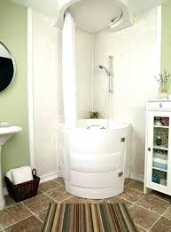 walk in bathtub with shower walk tub shower combo in bath combinations round shaped with white walk in bathtub with shower