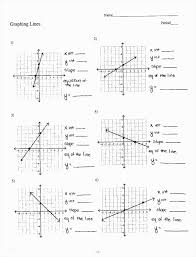 finding slope from a graph worksheet awesome graphing systems linear equations worksheet doc tessshlo 34