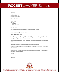 Complaint Letters To Companies Simple Complaint Letter To A Company Template With Sample