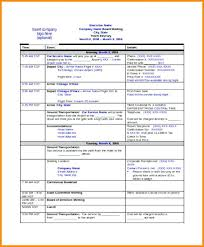 Online Itinerary Template Mecalica Co
