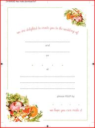003 Free Online Invitation Templates Maker To Print