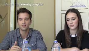 nathan kress 2016. what\u0027s up hollywood - into the storm: alycia debnam-carey \u0026 nathan kress interview youtube 2016