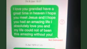 Twitter Vater Findet Herzzerreißenden Text Der Tochter An Toten Opa