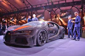 With the super sport 300+, bugatti took the chiron and optimized the bodywork for more slippery aerodynamics. Bugatti Chiron Super Sport 300 Revealed Autocar