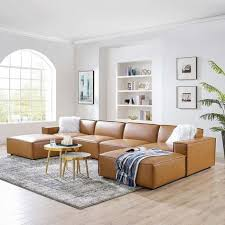 the ideas for leather sectional sofas