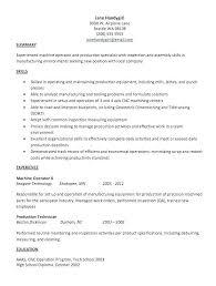 Forklift Operator Resume Unique Machine Operator Resume Laser