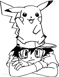 Pokemon Black Printable Coloring Pages