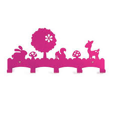 Childrens Coat Racks Fun and stylish Woodland Creatures Childrens Coat Rack a useful 55