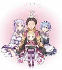 anime picture with re zero kara hajimeru isekai seikatsu emilia re zero rem re zero pack re zero beatrice