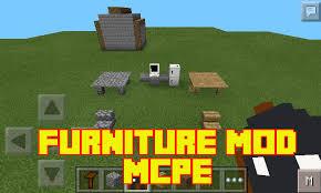 Furniture mod MCPE screenshot
