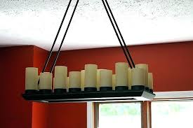 full size of home improvement candle chandelier real wax chandeliers non electric medium size of lighting