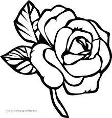 Flower Coloring Pages Ecancerargentinaorg
