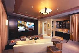 Small Picture Home Theater as Addition to Large Modern Interior Small Design Ideas
