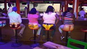 Senor Frog's Freeport: Fun bar stools