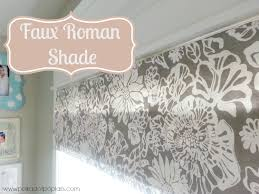 it worked great and if i hadn t told you you wouldn t have been able to tell i used duct tape and pins to make my faux roman shades