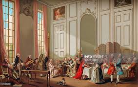 daily life in french history the aristocracy taking tea th atilde copy atilde nbsp l the aristocracy taking tea thatildecopy atildenbsp l anglaise at the house