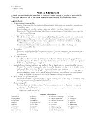where to put a thesis statement in a research paper introductions and thesis statements hamilton college