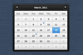 Calendar Templates For Websites Website Calendars Photography Calendar