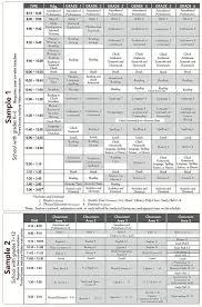 Sample Schedule Abeka Academy Home Schooling Ideas Homeschool