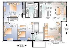 House Plan W3128V1 Detail From DrummondHousePlanscom ReverseAffordable House Plans To Build