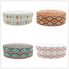 Us 11 73 15 Off 50y 15mm Aztec Print Fold Over Elastic Geometry Rhombus Foe Hair Tie Ribbon For Headband Diy Sewing Headband Accessories In Ribbons