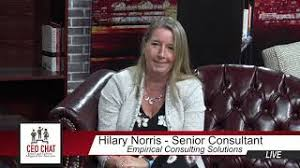 ECS's Hilary Norris appeared as a guest on CEO Chat (RVN-TV) September 2018  - YouTube