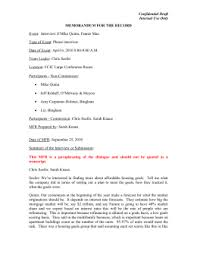 ishmael essay assignment confidential draft internal use only memorandum for the record