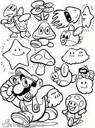 Kleurplaten Mario Bros Kleurplaten Kleurplaatnl