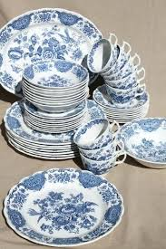 Blue And White China Pattern Custom Blue And White China Set Blue And White China Dinner Sets Corefoodco