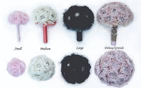 Handmade Peony Bouquets Broochbeautiful