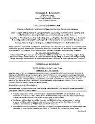 Military Civilian Resume Builder Veterans Resume Example