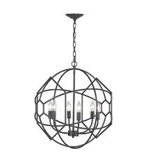 visual comfort e f 6 light inch bronze chandelier ceiling vineyard