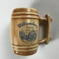 Williamsburg Virginia Stein VTG Mug Drink Beer Governor's Palace USA Made  Gift | eBay