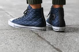 A Quilted Pattern Highlights This Converse Chuck Taylor All Star ... & Various renditions of the Converse Chuck Taylor All Star continue to be  offered and don't expect that to slow down anytime soon. Adamdwight.com