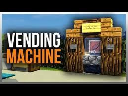 Wizard's Vending Machine Mod Custom Minecraft VENDING MACHINES COKE PEPSI SNACKS PHARMACY MORE