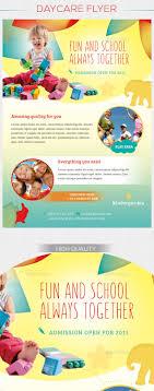 children daycare flyer by ingridk graphicriver children daycare flyer corporate flyers