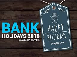 Bank Holidays In Maharashtra 2020 2019 List Of