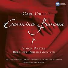 Sir <b>Simon Rattle</b> - <b>Orff</b>: Carmina Burana - Amazon.com Music