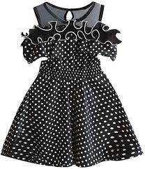 Sameno Toddler <b>Kids Baby Girls</b> Dot Printing <b>Summer Dress</b>