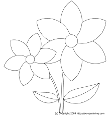 Coloring Pages Flowers Printable Coloring Pages Free Coloring Pages