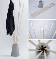 Make A Coat Rack Best Extraordinary How To Make A Coat Rack Cheap Class Your Own Concrete