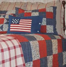 Country Patchwork Quilt Sets | Retro Barn Country Linens & Betsy Americana Quilt Set - Retro Barn Country Linens - 1 ... Adamdwight.com