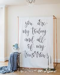 Creative Ways To Display Quotes At Your Wedding