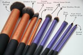 real techniques brushes expert makeup tools set of 4 health beauty makeup on carousell