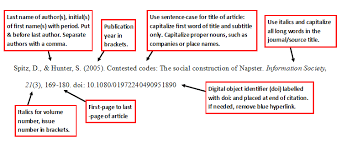 Journal Article With Doi Apa Style 6th Edition