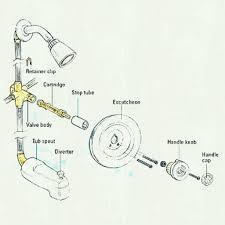 bathtub faucet repair leaking single handle moen parts