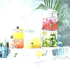 glass drink dispenser with tap nz 2 gallon beverage gal mason jar cold beehive hammered gl glass beverage dispenser
